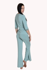 3/4 Sleeve Top and Long Bottoms Pyjamas »Enjoy«