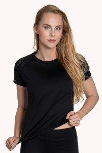 »Powerful« Short-sleeved Sports Top