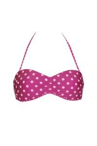 """Linosa"" Reversible Bandeau Bikini Top"