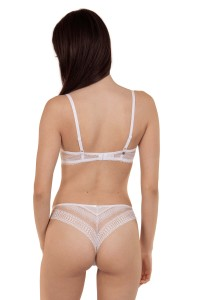 62510 - »Romance« High Leg Brazilian Briefs